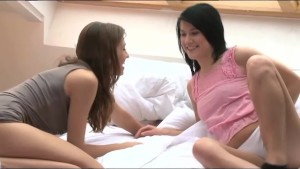 Dane Jones Warm lesbians in love