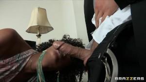 Hot ebony nympho seeks sex doctor for help yet sh