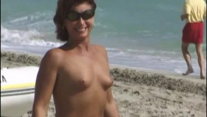 Naked Girls on South Beach Par