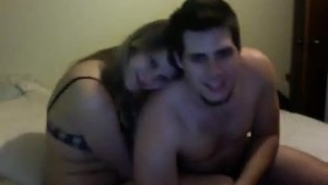 Sexy couple making love on por