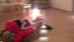 College teens lusty xmas party