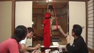 Uncensored Japanese Geisha Girl Bondage