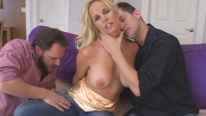 Mommy Stretched By Two Friends