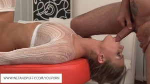 Strawberry Sandy Blowjob And A