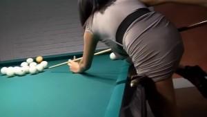Billiards table for fuck