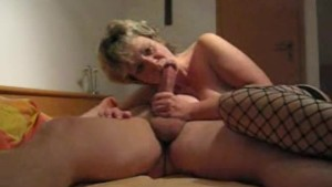 Mature and busty amateur wife