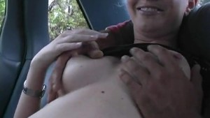 Naughty Teen s Back Seat Blowj