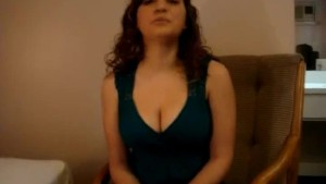 Curvy Babe With Huge Tits Covered In Cum