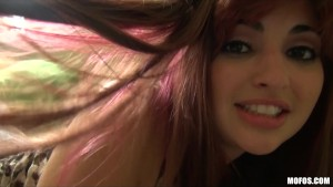 Incredibly sexy redhead teen Jade Couture takes her BF s big-dick