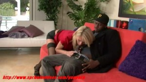Hot girl having interracial sex with her boyfriend