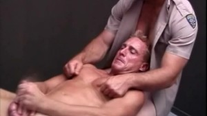 Hairy Cops Threesome