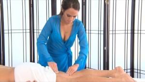 Haley Sweet Massages Then Fucks Her Client