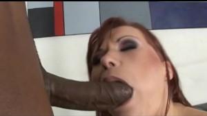 Big Black Cock for A Redhead W