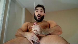 Muscle Cowboy CUMMING!