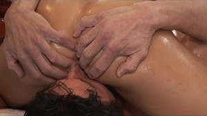 Asa Akira Asian Nuru Massage with Blowjob and 69