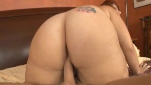 sexy big booty girl sucks cock and gets nailed!