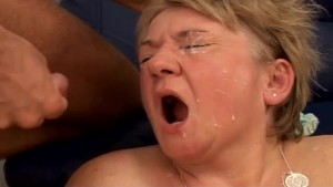 Grandma With Big Tits Gets Fuc