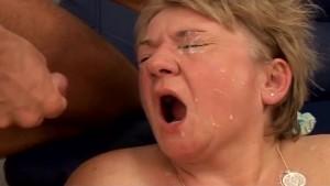 Grandma With Big Tits Gets Fuc