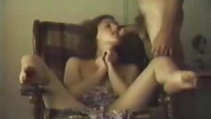 Amateur sex session with hairy