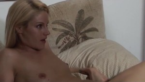 Ann Marie Rios Gets Fucked By Blonde With Strap On