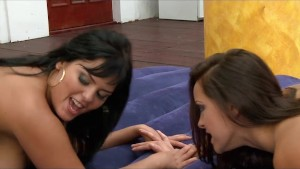 Jasmine Black and Liza del Sierra Poolfucking