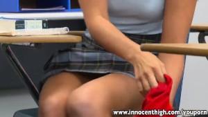 InnocentHigh Sexy Rilynn Rae classroom rammed