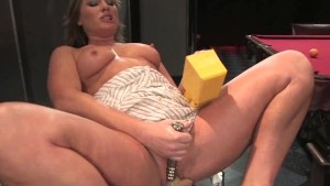 Sexy Milf Gets Drilled by Machines