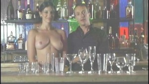 Topless Bartending is a Great