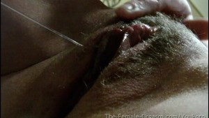 Sopping Wet and Hairy Amateur Orgasms