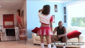 Lauren Lesley in Young Black Cheerleaders
