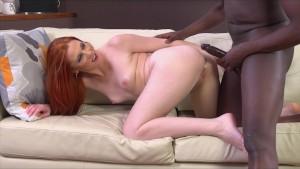 Mischel Russo Redhead meets black dick