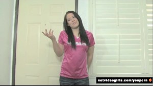 Casting Couch With Amateur Brunette Danielle