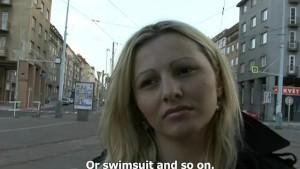CZECH STREETS - Ilona takes ca