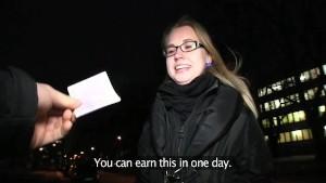 PublicAgent Blonde college gir