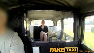 FakeTaxi Sexy business woman f