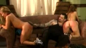 Hot Spanking Session For These Two Babes