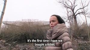 PublicAgent Short Girl gets fucked by ticket inspector