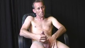 Skinny DILF Playing With His Cock And Ass - CUSTOM BOYS