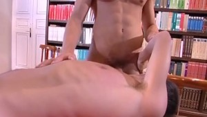 Reading Room Romp - All Male Studio