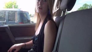 Highschool Girl with Braces Driving Around Town Getting Naked in Public in Cedar Rapids Iowa
