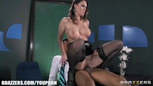 Slutty sex-toy Jennifer Dark feeds her hunger for big hard cock