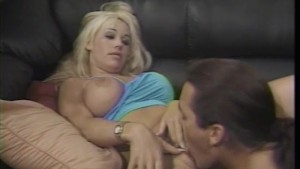 Blonde cutie gets her pussy ea