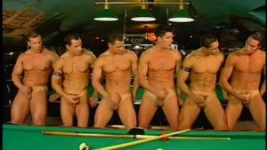 Group of guys fuck bareback at the bar - Pacific Sun Entertainment