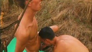 Two twinks on on a camping trip - The French Connection