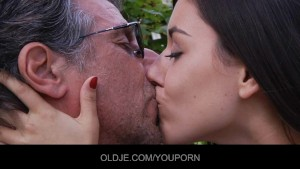 Classy Young Chick suck and fuck the Old Guy