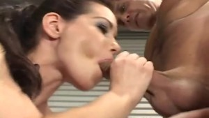she loves her blow job
