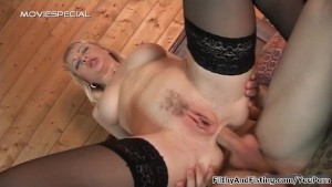 Filthy anal milf fisting