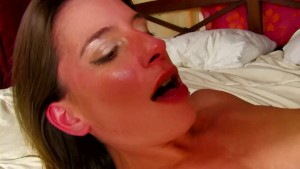 Sexy French lady gets fucked hard on the bed - Kemaco Studio