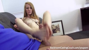 Redhead Footjob Queen Anal and