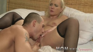 MOM Blonde MILF s and their lo